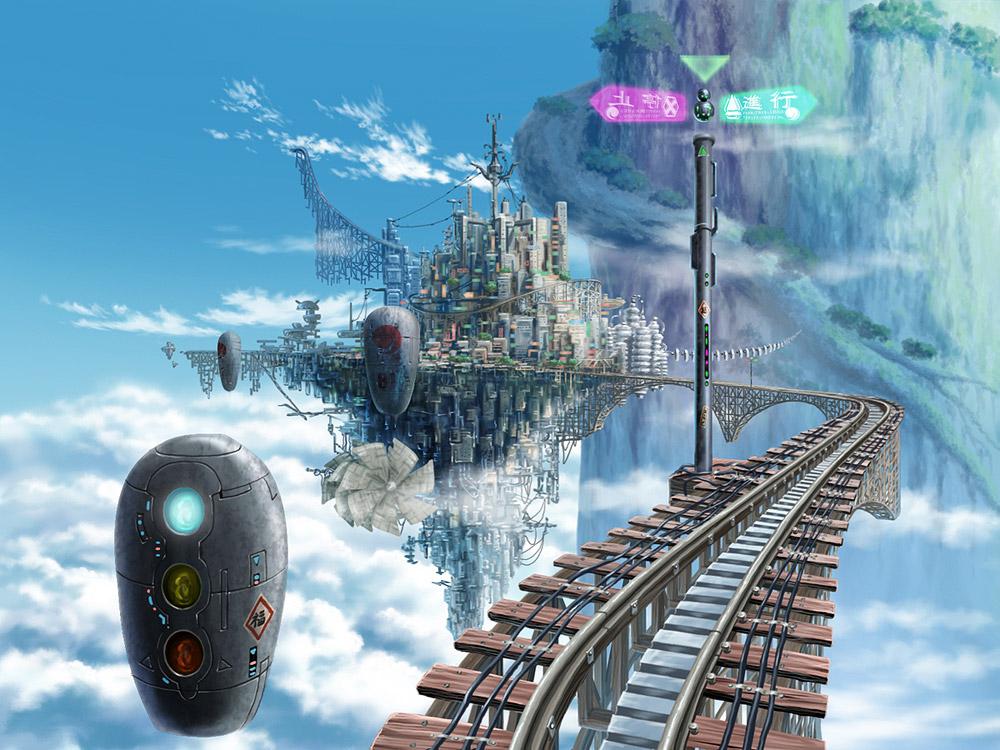 Villes futuristesVilles futuristes